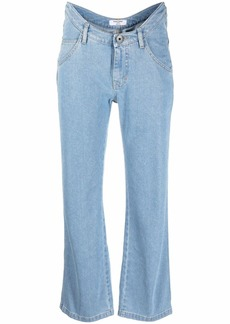 Opening Ceremony curved-waistband jeans