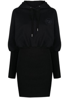 Opening Ceremony embroidered-logo hooded dress