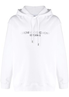 Opening Ceremony embroidered logo hoodie
