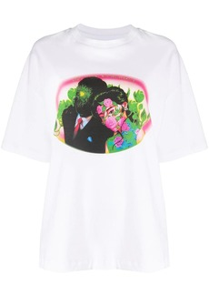 Opening Ceremony figures print loose-fit T-shirt