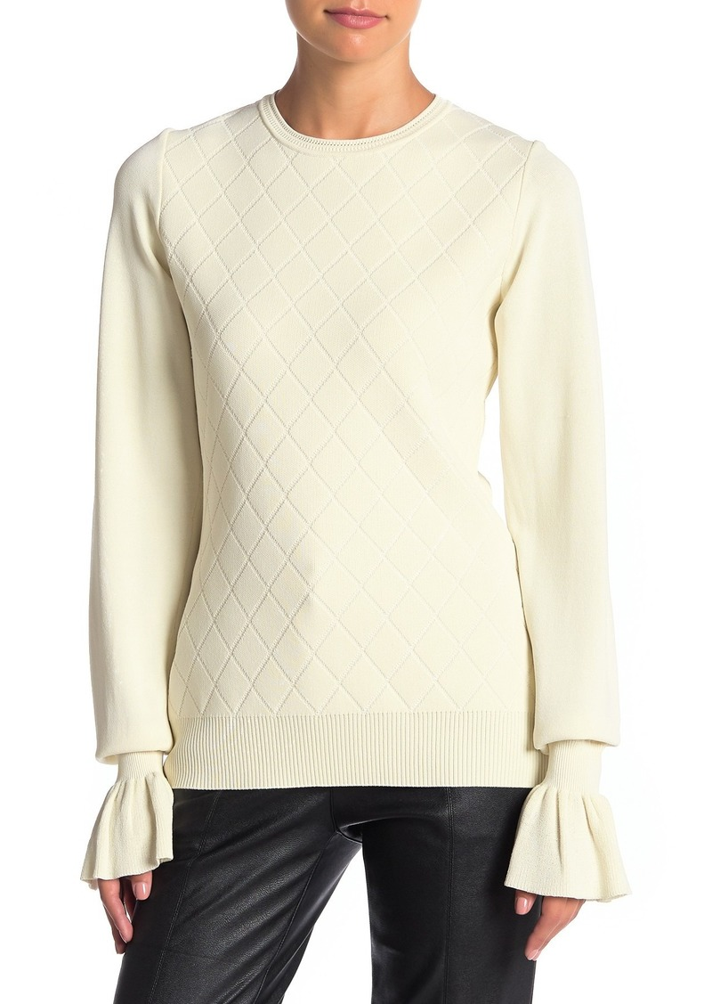 Opening Ceremony Flare Sleeve Knit Top