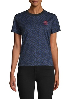 Opening Ceremony Floral-Print Cotton Tee