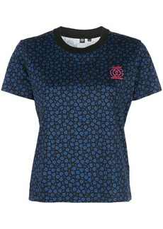 Opening Ceremony floral print logo T-shirt