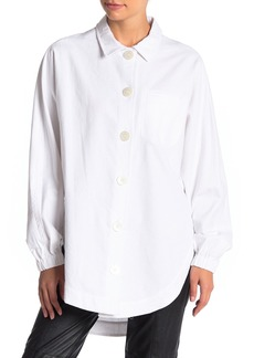 Opening Ceremony Front Button Long Sleeve Shirt