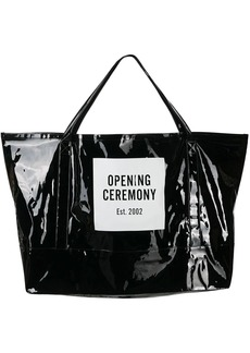 Opening Ceremony giant Box Logo tote bag