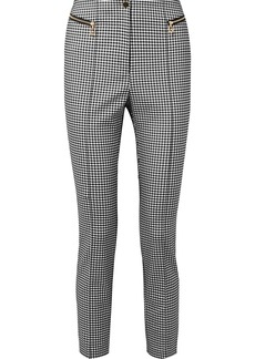 Opening Ceremony Gingham Cady Skinny Pants