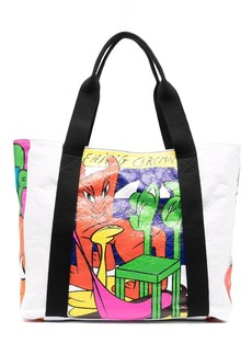 Opening Ceremony graphic-print tote bag