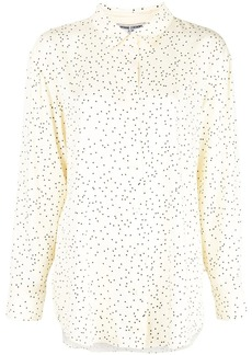 Opening Ceremony heart print long-sleeved shirt