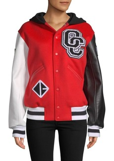 Opening Ceremony Hooded Varsity Jacket