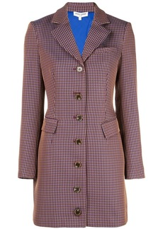 Opening Ceremony houndstooth blazer dress