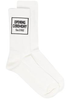 Opening Ceremony intarsia-logo ankle socks