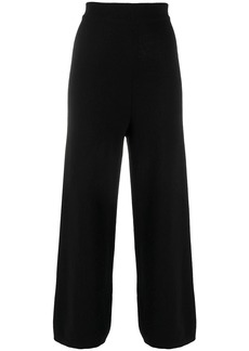 Opening Ceremony knitted flared high-waisted trousers