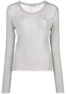 Opening Ceremony knitted long-sleeve top