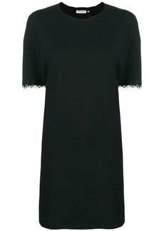 Opening Ceremony lace trim T-shirt dress