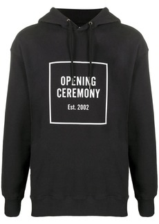 Opening Ceremony Logo Box relaxed-fit hoodie
