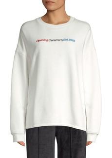 Opening Ceremony Logo Crewneck Sweatshirt