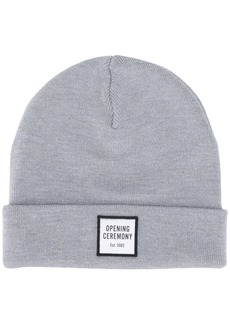 Opening Ceremony logo patch knitted beanie
