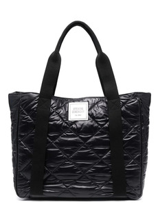 Opening Ceremony logo-patch quilted bag