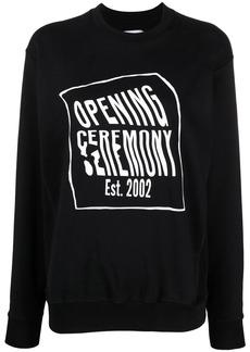 Opening Ceremony logo-print sweatshirt