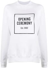 Opening Ceremony logo print sweatshirt