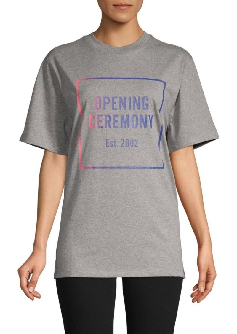 Opening Ceremony Logo Short-Sleeve Cotton Tee