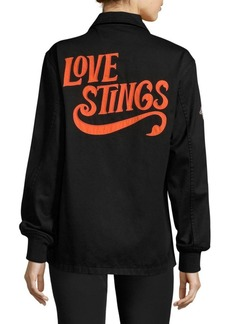 Opening Ceremony Love Stings Coach Cotton Jacket