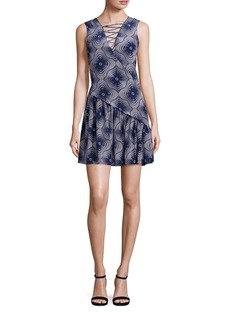 Opening Ceremony Medallion Lattice Dress