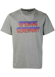 Opening Ceremony melted graphic T-shirt
