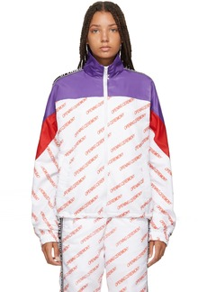 Opening Ceremony Multicolor All Over Logo Warm Up Jacket