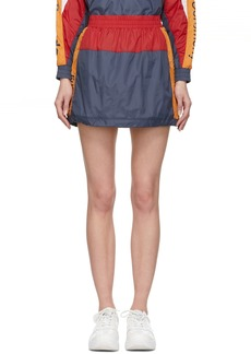 Opening Ceremony Navy & Red Warm-Up Miniskirt