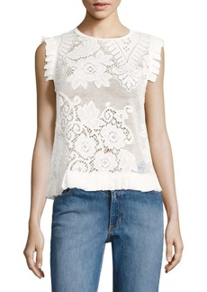 Opening Ceremony Nikoletta Lace Top