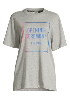 Opening Ceremony Ombre Box Logo T-Shirt