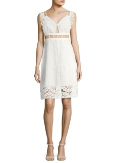 Opening Ceremony Anglaise Babydoll Sleeveless Cotton Dress