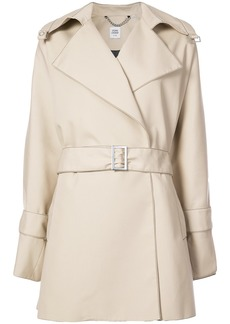 Opening Ceremony bonded poplin trench - Brown