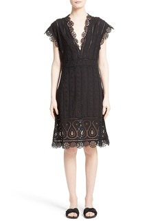 Opening Ceremony Broderie Anglaise Dress