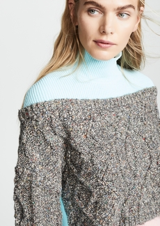 Opening Ceremony Cable Turtleneck Sweater