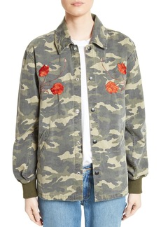 Opening Ceremony Camo Tiger Coach Jacket