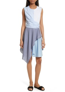 Opening Ceremony Cody Stripe Shirting Dress