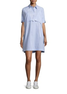 Opening Ceremony Cotton Elliptical Hem Dress