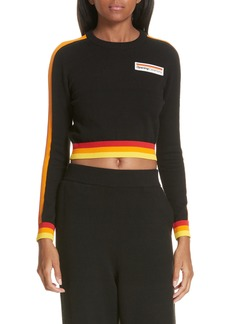 Opening Ceremony Crop Logo Sweater (Limited Edition)