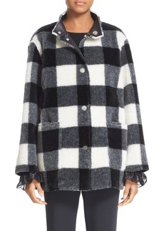 Opening Ceremony 'Culver' Reversible Faux Fur Coat