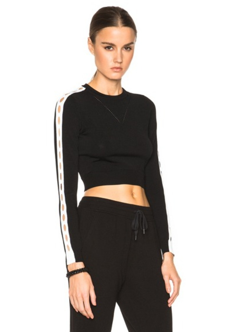 Opening Ceremony Cut Out Cropped Top