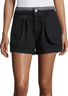 Opening Ceremony Denim Inside-Out Shorts