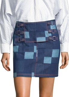 Opening Ceremony Denim Tab Skirt