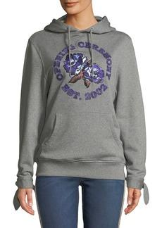 Opening Ceremony Embroidered Logo Graphic Hoodie Sweatshirt