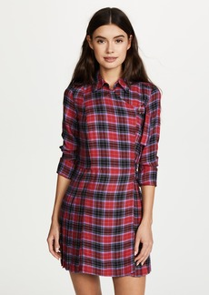 Opening Ceremony Flannel Kilt Dress