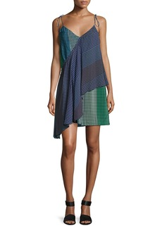 Foulard Printed Silk Wrap Dress