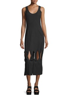 Opening Ceremony Glide Twist-Front Midi Dress