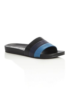 Opening Ceremony Kaatya Color Block Pool Slide Sandals