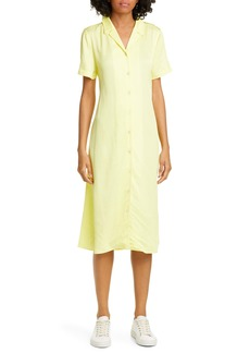 Opening Ceremony Lace-Up Back Shirtdress